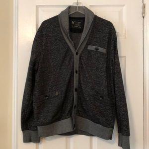 Marc Ecko Men's Button Up Sweatshirt - Size xl